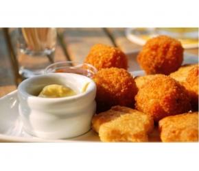 Вива Кетъринг - Картофени кюфтета с топено сирене