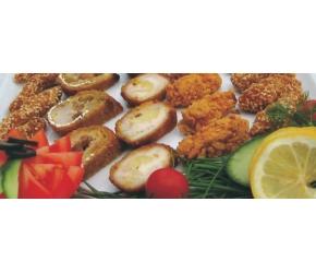 Вива Кетъринг - Панирани хапки от пилешко филе №1