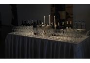 Оборудвана маса за бар - 60 Гости