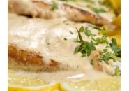 Бон филе с топено сирене и бекон