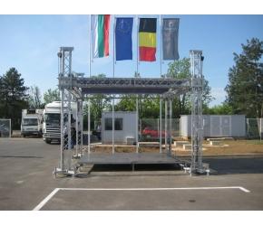 Вива Кетъринг - Покрита- алуминиева сцена